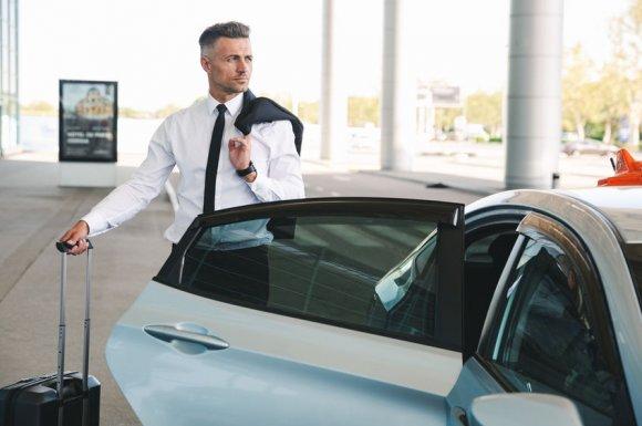 Taxi pour déplacements professionnels sur Brens